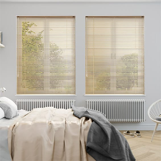 Gold color Venetian Blinds