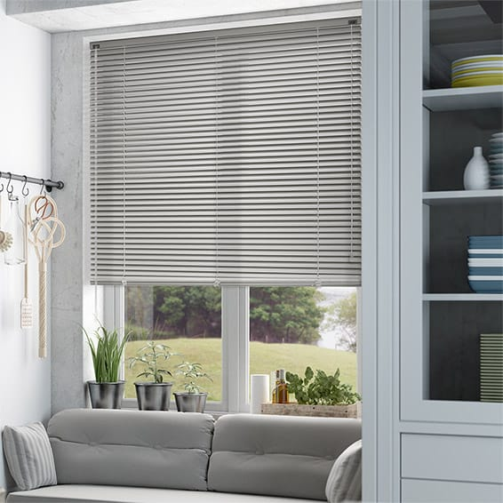 Dark Grey Venetian Blinds