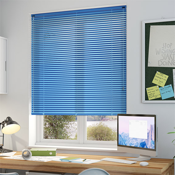 Sky Blue color Venetian Blinds